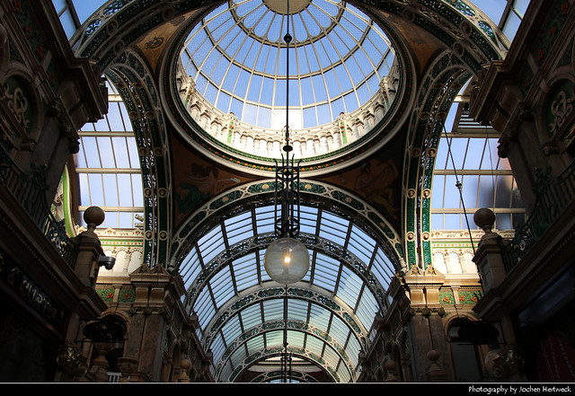 County Arcade, Victoria Quarter, Leeds, UK
