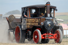 Longreach - Jonathan McDonnell posted a photo:	Foden Timber Tractor '13784' , reg 'UX 9728' which was built in  1932.