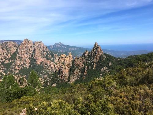 Arrivée au GR20 : les Ferriate et le Monte Bracciutu