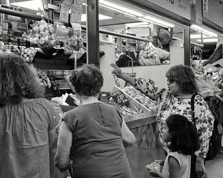 Central Market, scene.