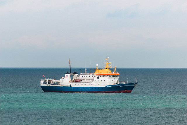 Ship, North Sea