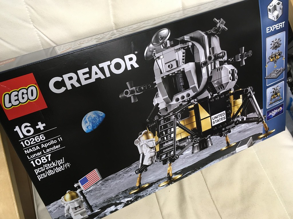 レゴ クリエイターエキスパート NASA アポロ11号 月着陸船 10266