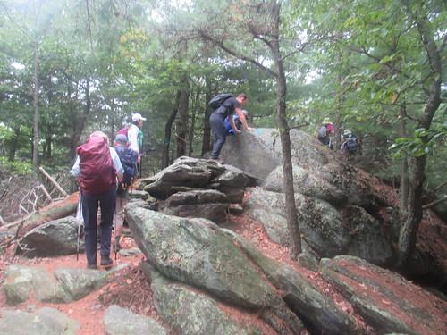 michauxforest pennsylvania ustrails sunsetrocks hiking rockscrambling