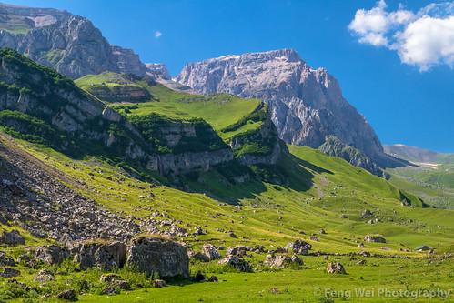 outdoors tourism eurasia colorimage scenicsnature asia travel landscape caucasus azerbaijan laza beautyinnature horizontal traveldestinations mountain caucasusmountains remotelocation