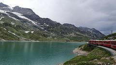 Lago Bianco at the Bernina Pass, on the Bernina Express (14)