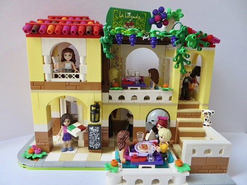 lego friends restaurant 41379 modification