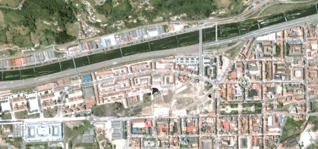 mieres, asturias, del camino franquista, antes, urbanismo, planeamiento, urbano, desastre, urbanístico, construcción