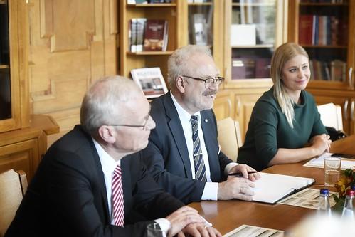 Valsts prezidents Egils Levits apmeklē Augstāko tiesu