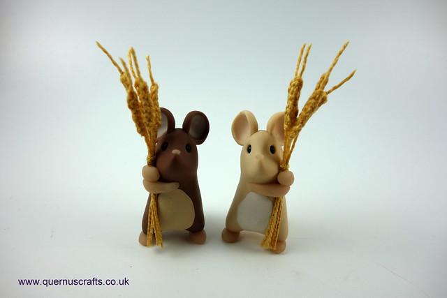 Two Little Harvest Mice