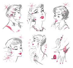 1958 illustrations