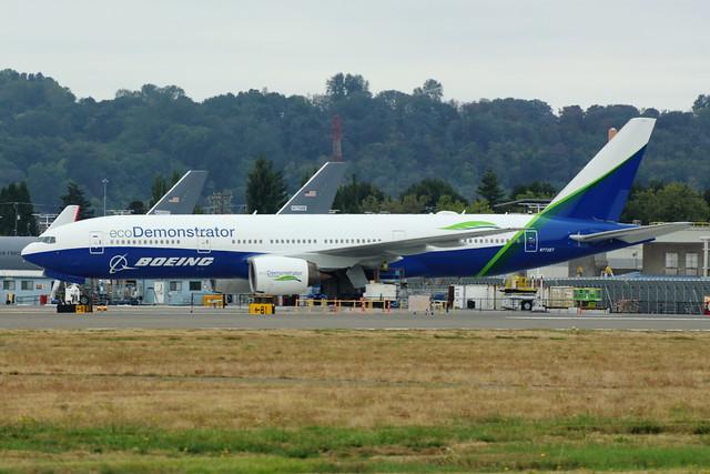 Boeing ecoDemonstrator (N772ET)