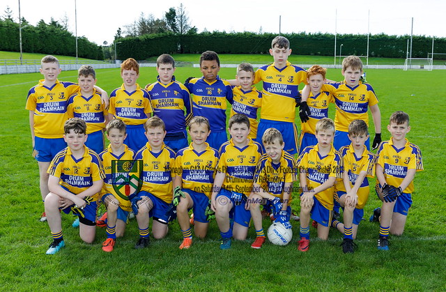 Under 13 Div. 4 Championship Final 2019 - Drumhowan v Rockcorry.