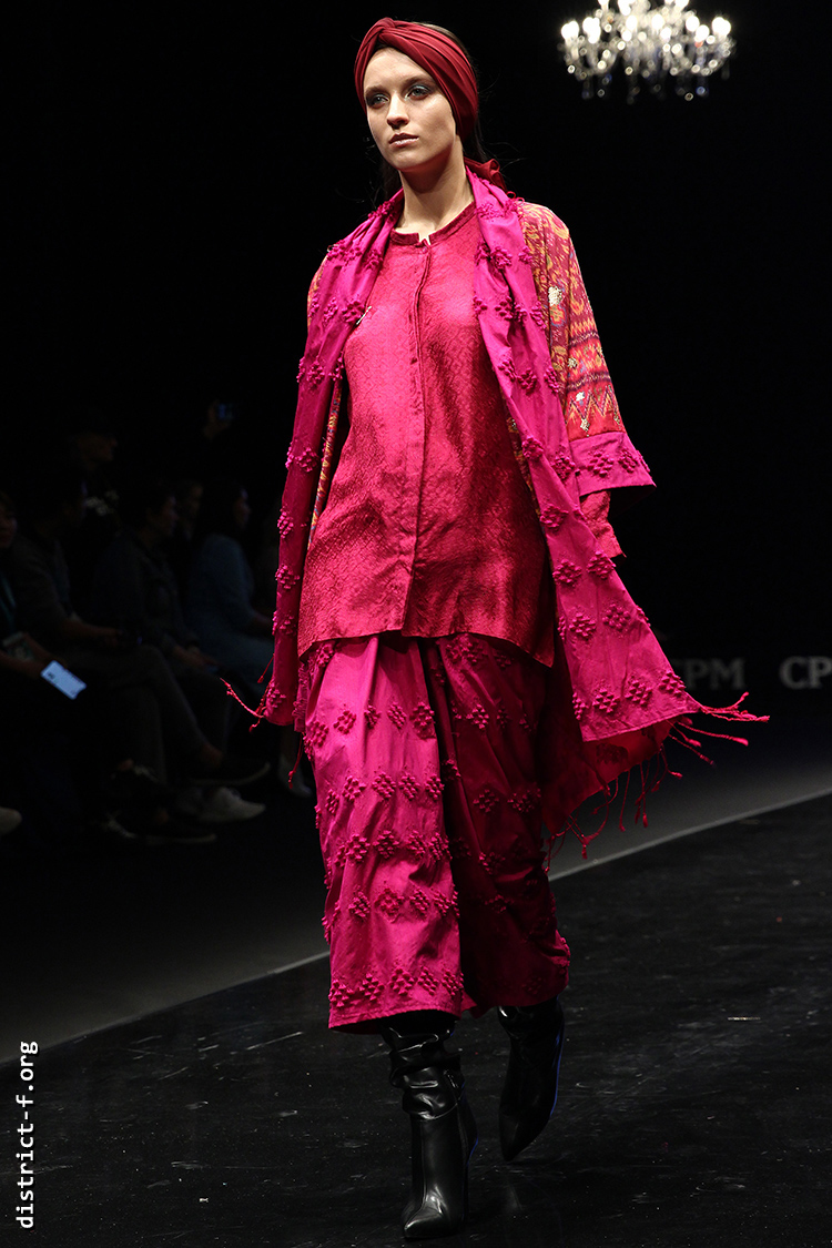 DISTRICT F — Collection Première Moscow SS19 — Indonesia yui
