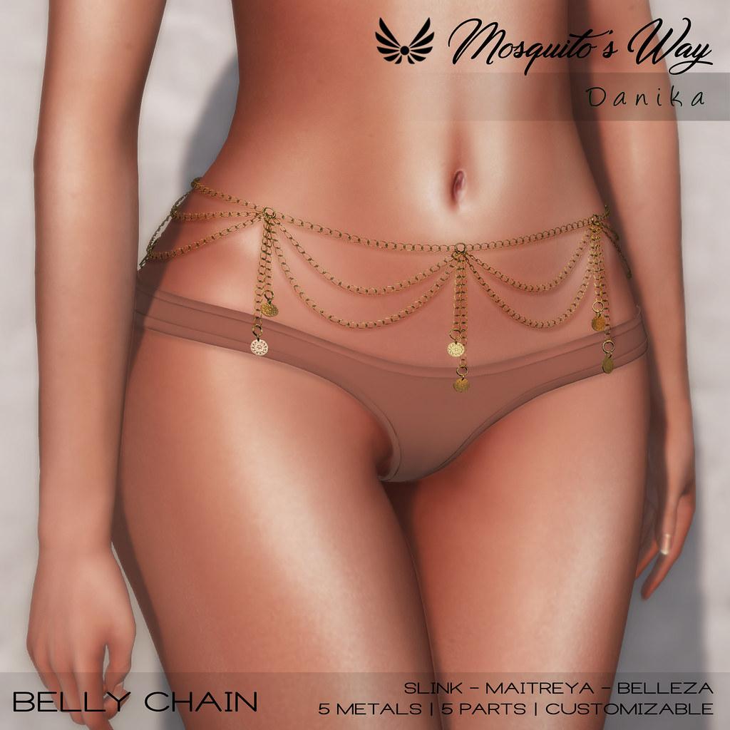 Mosquito's Way – Danika Belly Chain