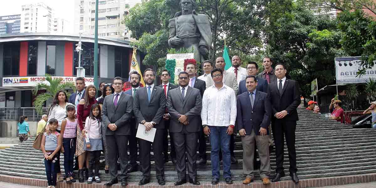 En Caracas conmemora los 209° Aniversario de la Independencia de México