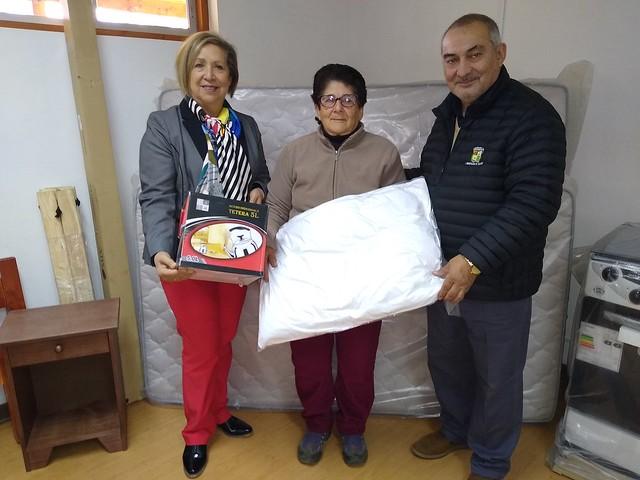 Programa de Habitabilidad entrega equipamiento a familias de Coltauco
