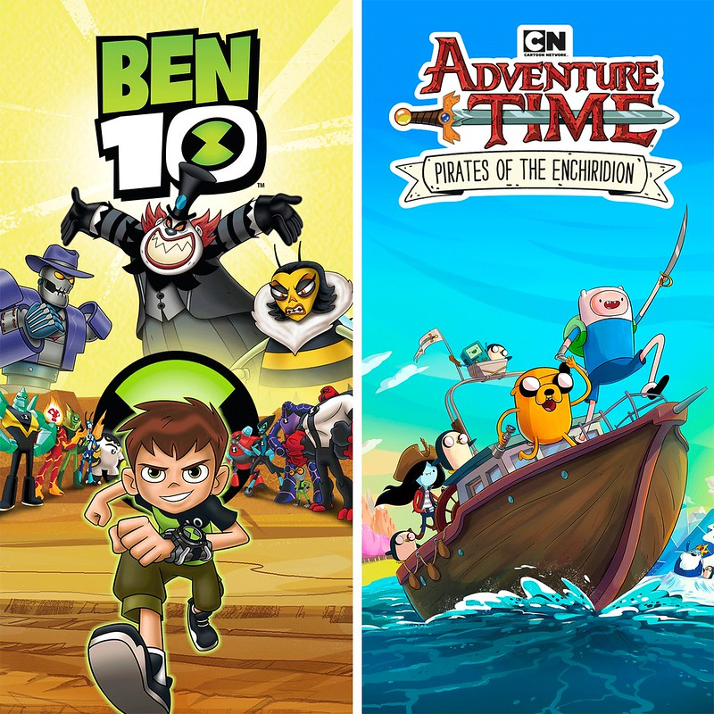 Thumbnail of Ben 10 and Adventure Time on PS4