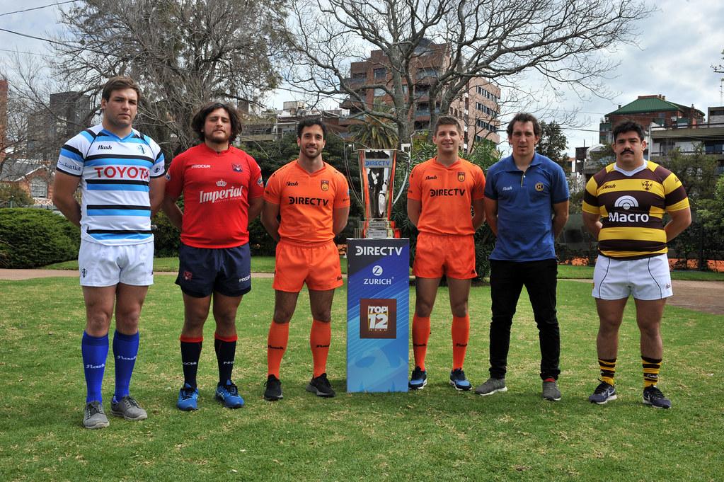 Foto oficial de capitanes semifinalistas del URBA Top 12