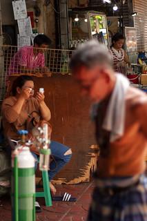 makup time, People of bangkok