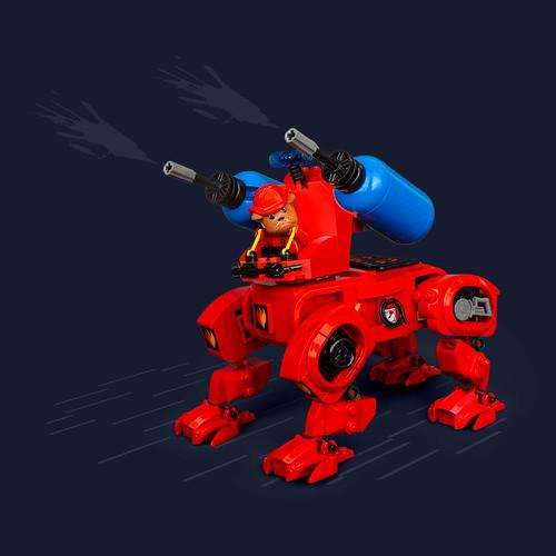 Mech Monday #37: Barty's Fire Brigade Bulldog