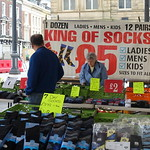 'King of Socks' at Preston Market