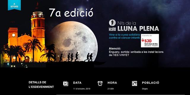 GALERIA DE FOTOS CURSA NITS DE LA LLUNA PLENA SITGES 2019
