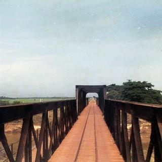 005_5 Railroad Bridge #2 over the River Kwai, Thailand 1966