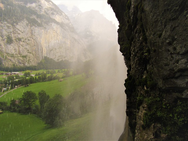 A Visit to the Famous Staubbach Fall in Lauterbrunnen