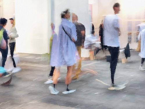 Sneakers at Artfair
