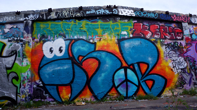 Oldenburg - (street: Melkbrink) 960th picture / Graffiti, street art