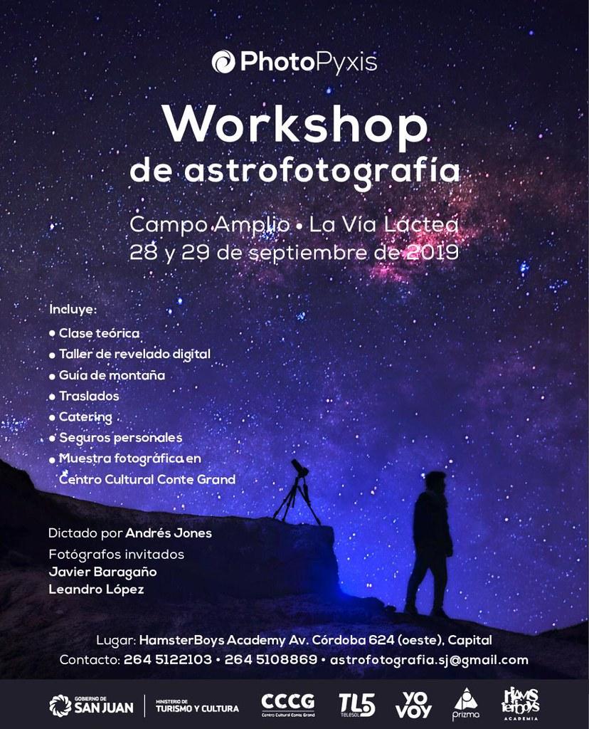 Workshop de Astrofotografía