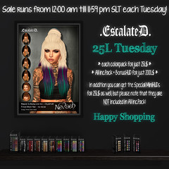 .EscalateD. | 25L Tuesday | 17.September.19