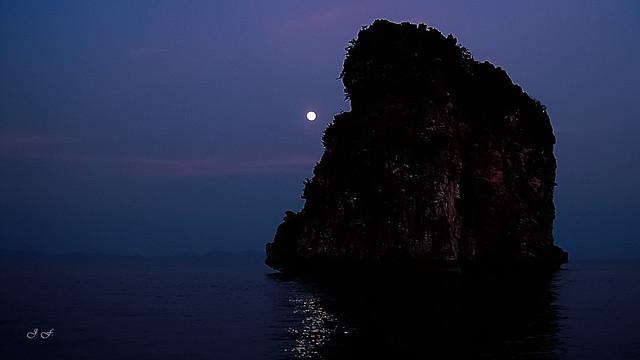 Luz de Luna en Koh Haa - Moonlight in Koh Haa