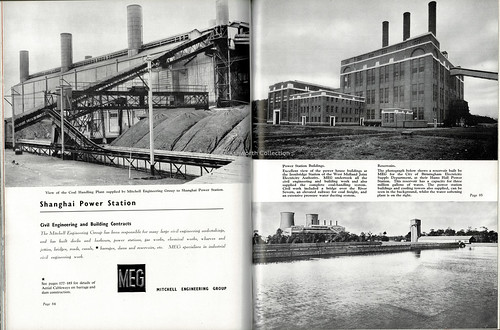 British Industrial & Engineering Installations, Mitchell Engineering group, 1946 : civil engineering & building contracts, electricity generation