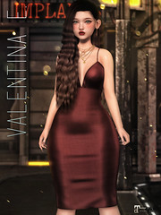 NEW! Valentina E. Maria Dress @ FaMESHed!