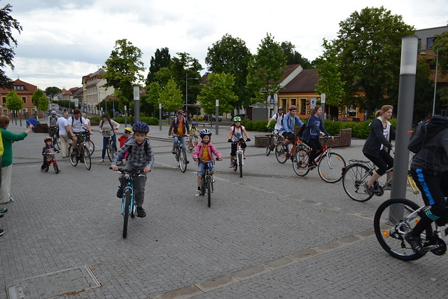 Czech-2016-06-19-Czech Bicyclists and Walkers Follow the Peace Road