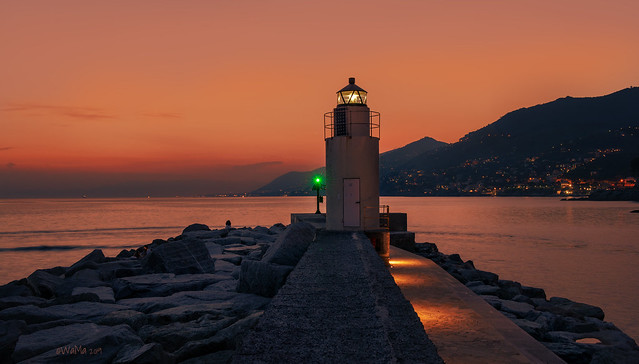 Camogli lighthouse