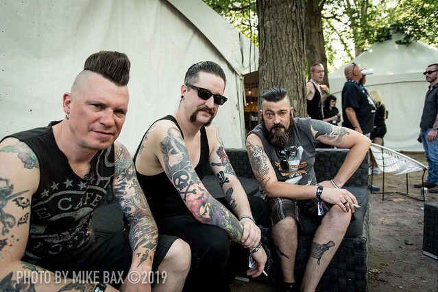 Gutter Demons at '77 Montreal (Parc Jean-Drapeau, Montreal, Quebec) on July 26, 2019