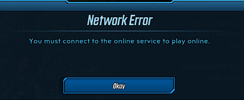 network error bl3