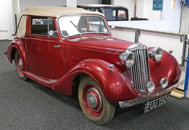 D22113.  1939 Sunbeam Talbot 10 DHC.