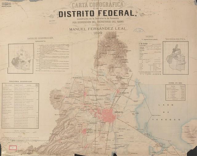 Mada do Distrito Federal do México, 1899