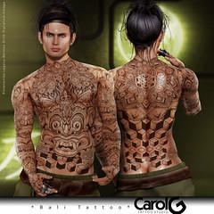 Bali Male TaTToo [CAROL G]