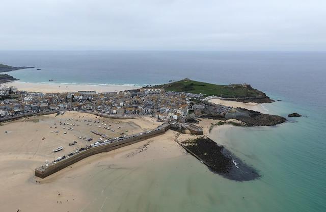 St Ives aerial image