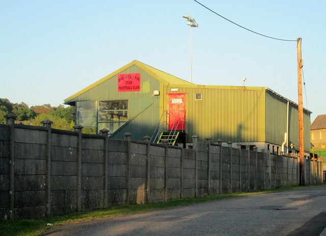 Stand, Islecroft Stadium, Dalbeattie