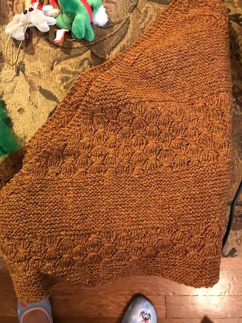 shawl from loshakova