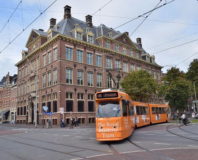 HTM 3107 Buitenhof/Lange Vijverberg Den Haag