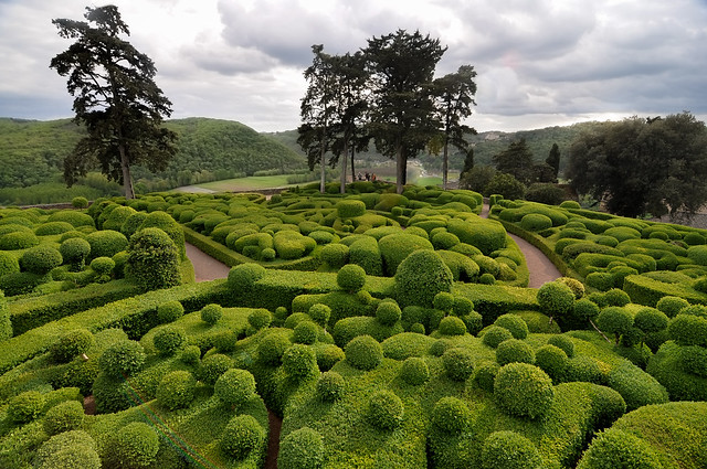 France - Dordogne  - Jardins de Marqueyssac