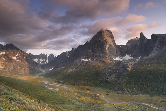 Last light on the Ketil - Tasermiut
