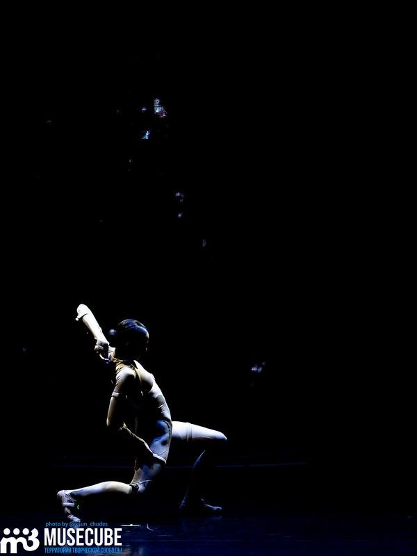 """Российская Федерация, город Санкт-Петербург, Мариинский театр-2, премьера балета """"Сны Спящей Красавицы"""", в главной роли - прима-балерина Диана Вищнёва, в роли принца - Марайн Радемакер."""