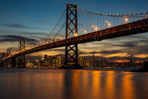 america bayarea baybridge california sf sfbayarea sanfrancisco usa unitedstates unitedstatesofamerica westcoast yerbabuenaisland bridge norcal sunset fav10 fav25 fav50 fav100
